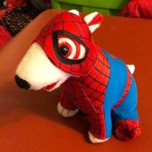 ❤️2/$20❤️ Target Bullseye Dog Plush Spider-Man